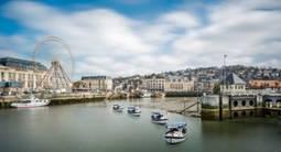 Baptême en hélicoptère - Survol du Pont de Normandie et d'Honfleur