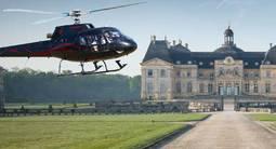 Baptême en hélicoptère près de Paris -  Châteaux de l'Essonne