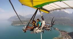 Vol en ULM Pendulaire au dessus du Lac d'Annecy