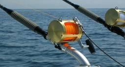 Pêche au gros en mer méditerranée près de Cannes