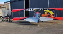 Initiation au pilotage d'avion biplan près de Nancy