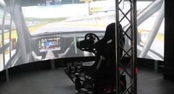 Simulateur de Pilotage de voitures de course à Bordeaux