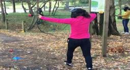Partie privée d'Archery Game à domicile à Poitiers ou ses environs