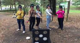 Partie privée d'Archery Game à domicile à Blois ou ses environs