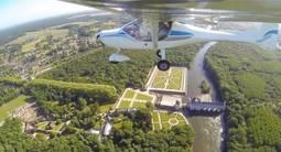 Vol en ULM à Blois au dessus des Châteaux de la Loire
