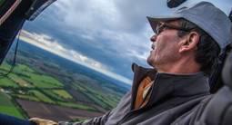 Vol en montgolfière - le Marais Poitevin depuis la Roche à Cerizay