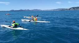 Randonnée et Découverte du Kayak autour du Cap d'Antibes