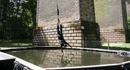 Saut à l'Élastique depuis le Viaduc d'Exermont à proximité de Reims