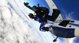 Saut en parachute au dessus du Parc Naturel du Perche