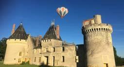 Vol en montgolfière au dessus de la Nièvre