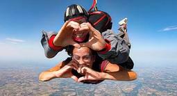 Saut en parachute à Agen