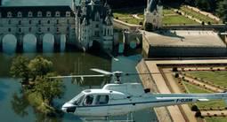 Baptême en hélicoptère à Amboise - Survol des Châteaux de la Loire et Chenonceaux