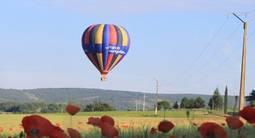 Vol en montgolfière au dessus de Reims
