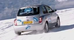 Leçon particulière de pilotage sur glace à Isola 2000