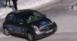 Stage de conduite sur glace à Isola 2000