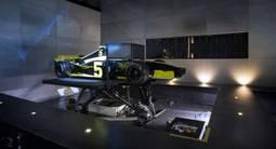 Simulateur de Formule 1 à Lyon