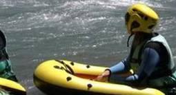 Initiation au Rafting à Aime en, près de Bourg Saint Maurice