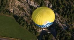 Survol des Hautes-Alpes en montgolfière