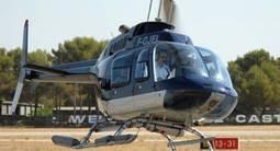 Baptême en Hélicoptère - Vol au dessus des Calanques de Marseille