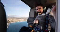Vol en hélicoptère au dessus du Var - Vol à 2 et avec les portes ouvertes
