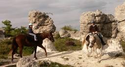 Randonnée à Cheval près de Manosque