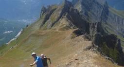 Randonnée sportive montagne près de Moûtiers