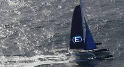Navigation Sportive sur un Trimaran de compétition à Sète
