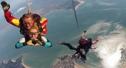 Saut en Parachute à Royan