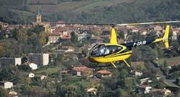 Initiation au pilotage d'Hélicoptère à Lyon