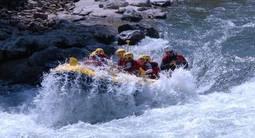 Descente en Rafting près de Bayonne