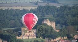 Vol en montgolfière près de Niort et au dessus du marais Poitevin