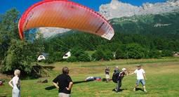 Apprenez à manier un parapente près de Grenoble