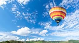 Vol en montgolfière au dessus de Giverny