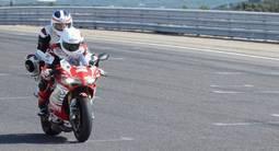 Baptême de Moto Aprilia RSV 4 - Circuit de Lédenon