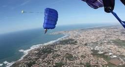 Saut en Parachute près des Sables-d'Olonne