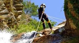 Canyoning au Canyon de Coiserette près d'Oyonnax