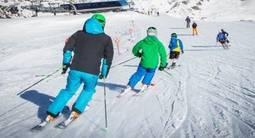 Une semaine de stage collectif de ski à Risoul