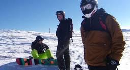 Stage de snowboard 6 jours, à Risoul