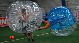 Partie de Bubble Bump à Toulouse