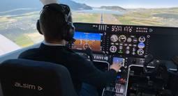 Simulateur de vol professionnel à Annecy