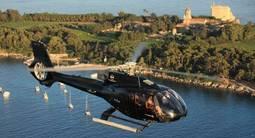 Baptême en Hélicoptère - Vol privatif entre terre et mer à Cannes