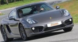 Baptême en Porsche Cayman S - Circuit de Fay de Bretagne