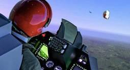 Simulateur de vol en avion de chasse F16 à Aix en Provence
