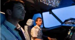 Simulateur de vol en avion Airbus A320 à Paris
