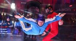 Simulateur de chute libre en soufflerie Indoor à Lyon