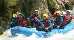 Rafting sur l'Aude à Axat près de Limoux