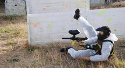 Partie de Paintball à Nîmes