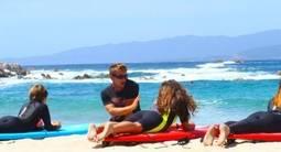Cours de Surf près d'Ajaccio