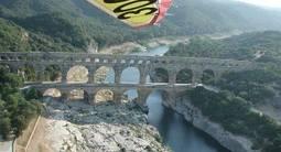 Baptême en ULM à Nîmes - Vol découverte du Gard