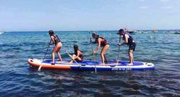 Stand up paddle dans le golfe de Saint Tropez